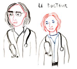 la docteur